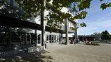 Haupteingang der Universitaet St.Gallen (HSG)